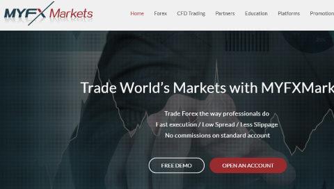 MYFX Marketsリベートプログラム