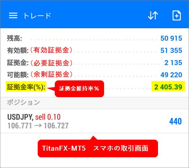 TitanFX_ MT5-スマホ画面取引画面_パソコンサイズ