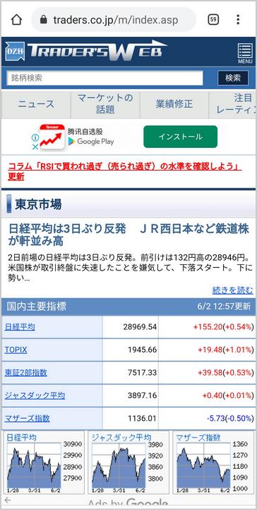 総合投資情報サイト