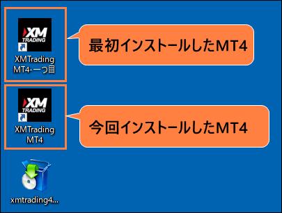 複数MT4をインストールした